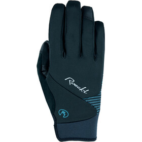 Roeckl Wolga Gloves Women black/turquoise